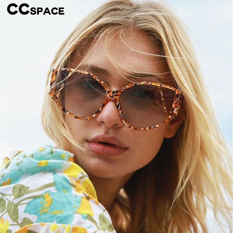 Grande personalidade homens mulheres gradient óculos de sol vintage 49065 moda tonalidade quadro uv400 óculos wfpqs