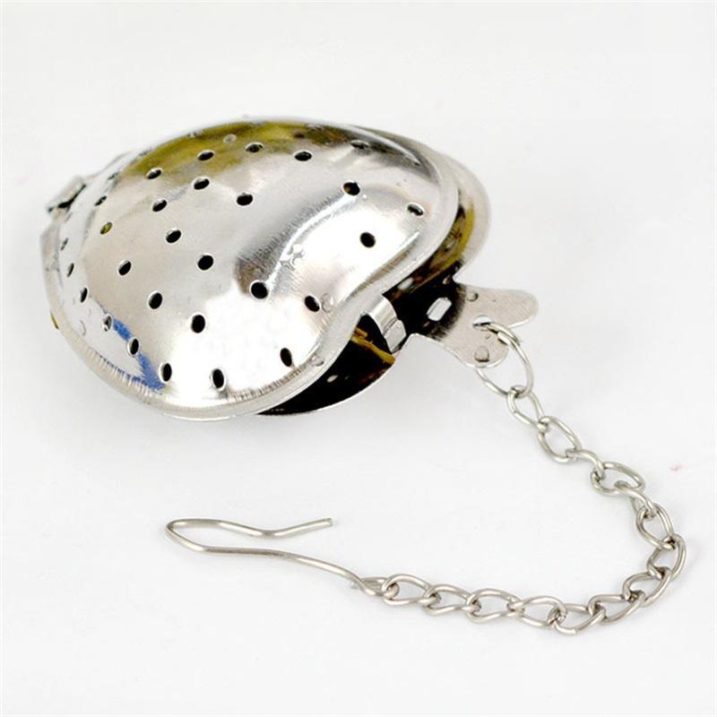 Tè foglia infusore in acciaio inox filtro tè riutilizzabile a forma di cuore a forma di tè infusore regalo utensili da cucina da sposa 419 J2