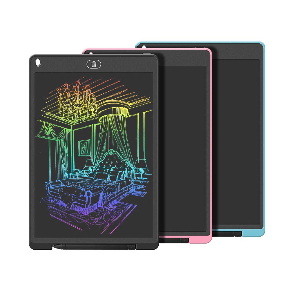 Tablet di scrittura LCD, grande formato, tavoletta grafica elettronica da 12 pollici, tavola di doodle di scrittura con blocco di memoria per casa, scuola