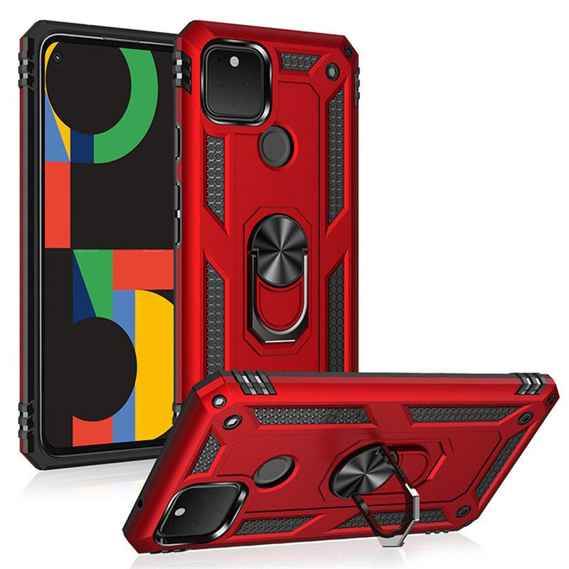Military Shockproof Phone Case For Google Pixel 5xl 5 4a 5G Magnetic Kickstand Protective Shell For Google Pixel 4a 4xl 4