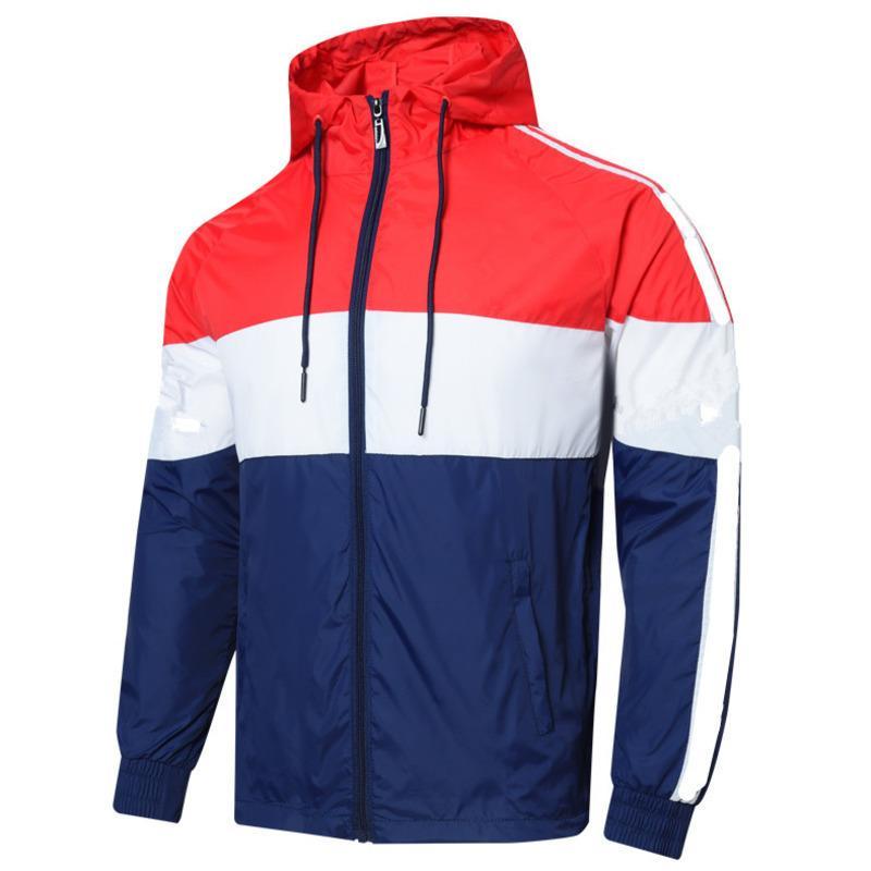 2021 Homens Mulheres Designer Jacket Brasão B3 camisola do hoodie dos homens mais roupa de tamanho Hoodies manga comprida Outono Sports Zipper Windbreaker