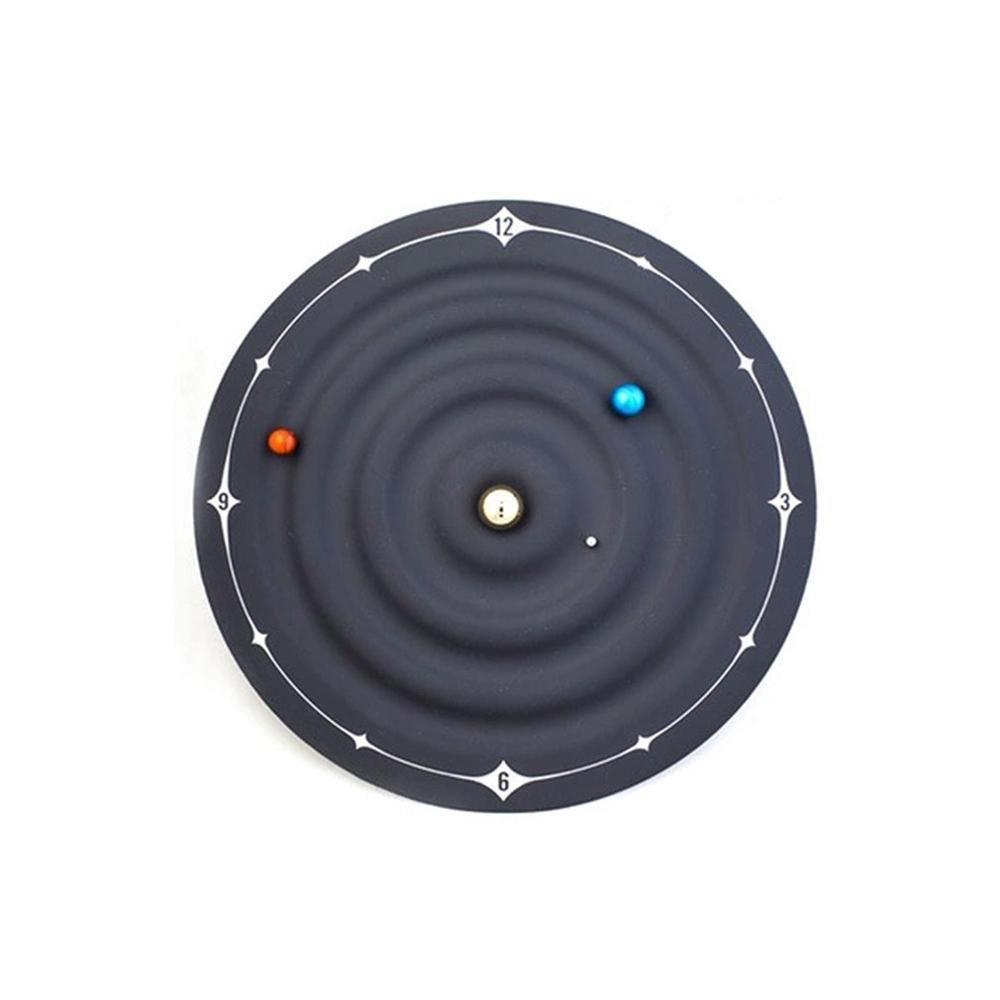 Nouveauté spécial caoutchoutés caché Aimants moteur Galaxy magnétique Horloge Galaxy magnétique Horloge murale Horloge