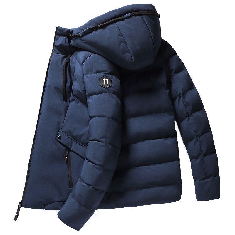 New Winter Jacket Men Thicken Warm Men Parkas Hooded Coat Man's Jackets Outwear Cotton Winter Jacket man SS611 201028