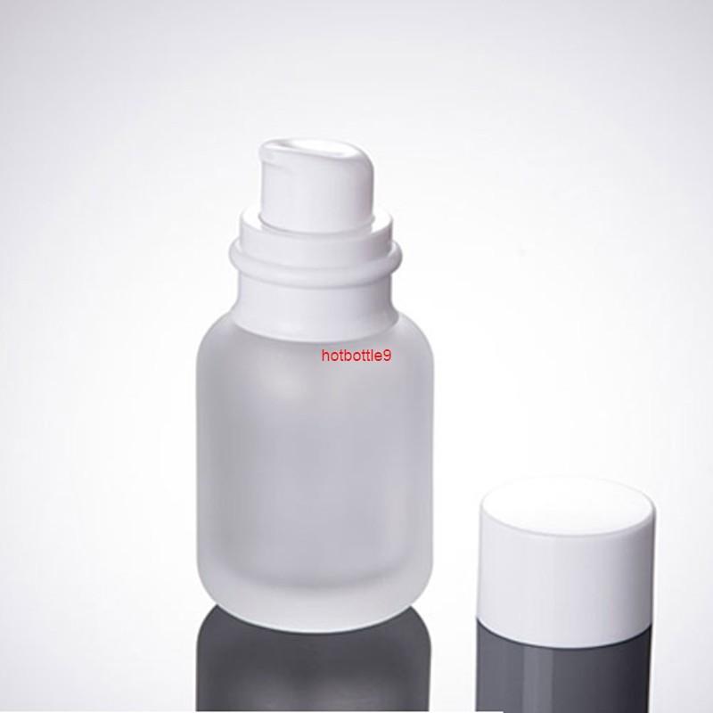 50 ml Buzlu Boş Kozmetik Krem Konteynerler Yüksek Kalite Deodorant Sıvı Makyaj Losyonu Ambalaj Doldurulabilir Şişeler 100 adet / Lotpls Sipariş