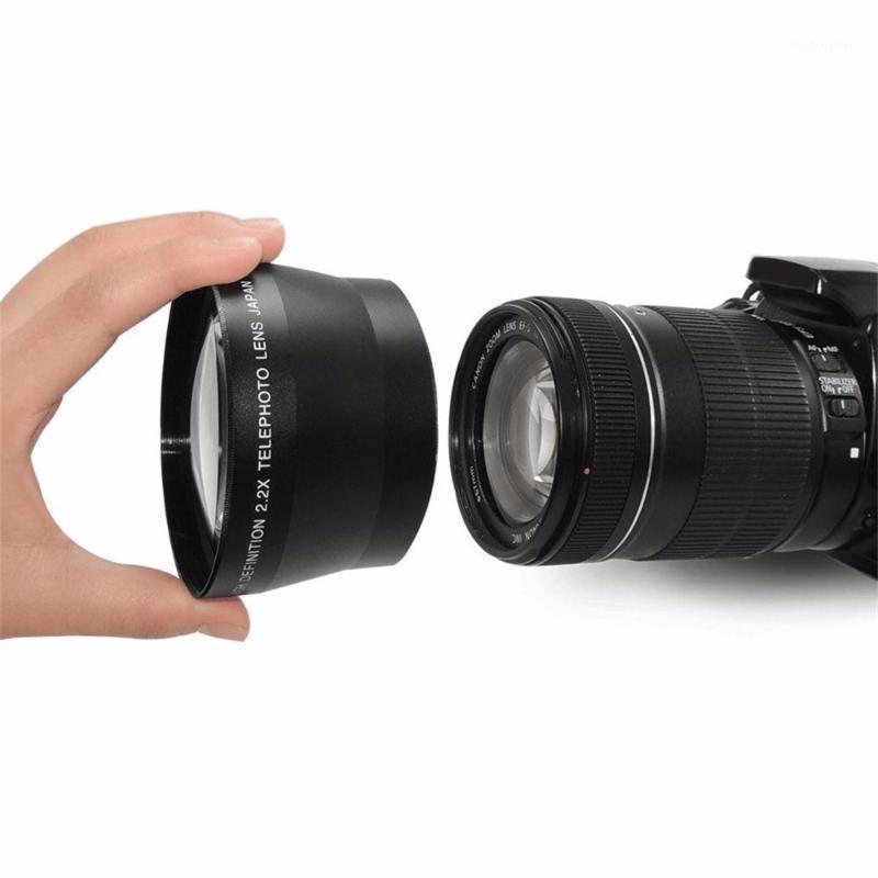 Altre telecamere CCTV 67mm 2.2x Digital Lens Digital Telepo per Canon Nikon Olympus Pentax Sony Tutte le discussioni Telecamera1