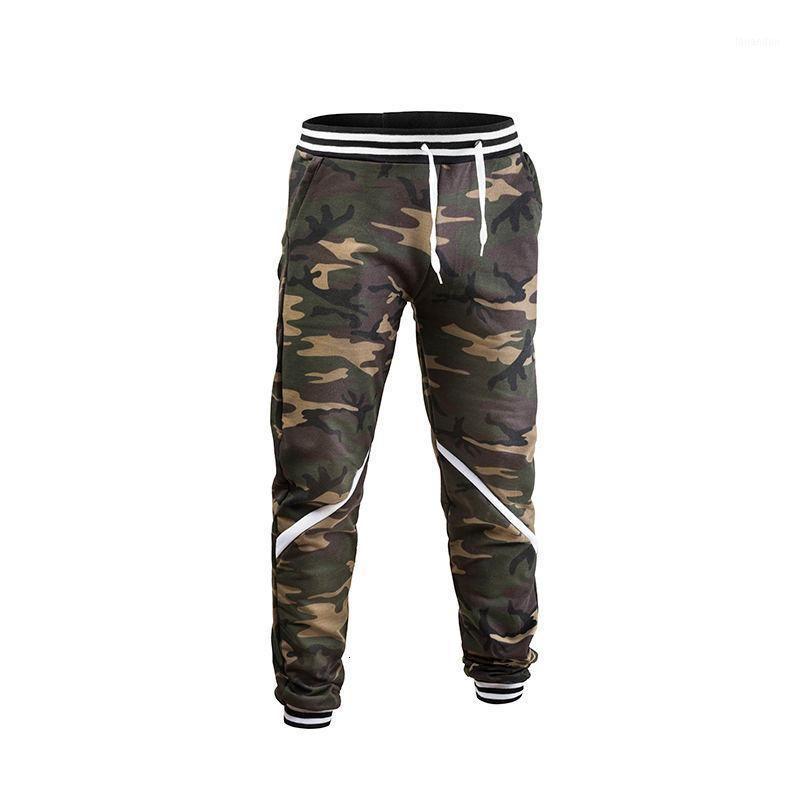 Carga Calças Homens Camuflagem Harem Jogadores Bolsos Soltos Hip Hop Calças Jogador Sweatpants Masculino Tamanho Pantalones Hombre1