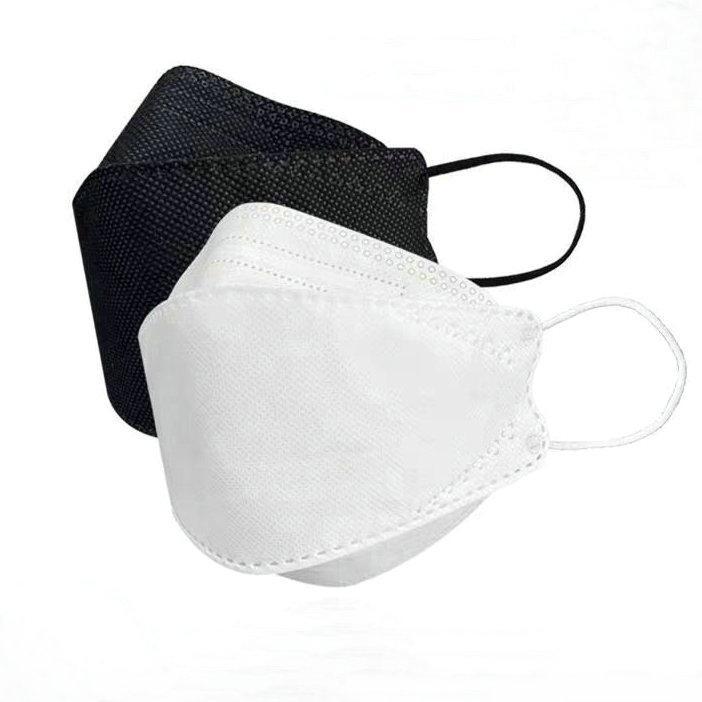 Stokta CE sertifikası koruyucu yüz maskesi 10 adet / grup 4-layer KF94 yüz maskesi DHL hızlı ücretsiz kargo