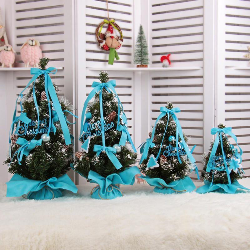 Уникальная мини-рождественская елка для домашних украшений для дома дети подарок Искусственная рождественская елка Новый год праздничные украшения деликатный1