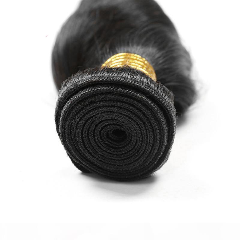 Paquetes de pelo virgen peruano 4pcs lot 100g PCS 9A Cabello humano sin procesar Tejidos de pelo peruano de la onda suelta de las tramas de la viruela de los cabello natural