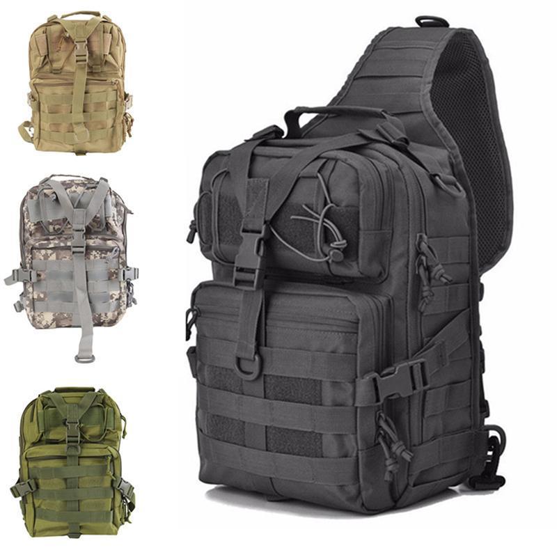 Homens Tactical Backpack camuflagem exterior Desporto Caminhadas Camping Caça Bolsas mulheres que viajam Trekking Bolsas de Ombro