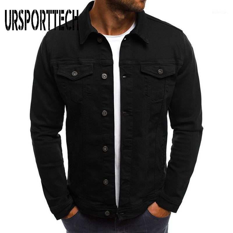 Arrival Men Denim Jacket Plus Size High Quality Fashion Jeans Jackets Slim Casual Streetwear Vintage Jean Clothing1 Men's