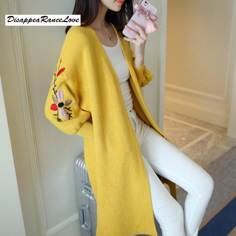 Femmes longues pull cardigan mode automne hiver manches longues moule épaisse tricotée tricotée cardigan femmes chandails pull femme y200722