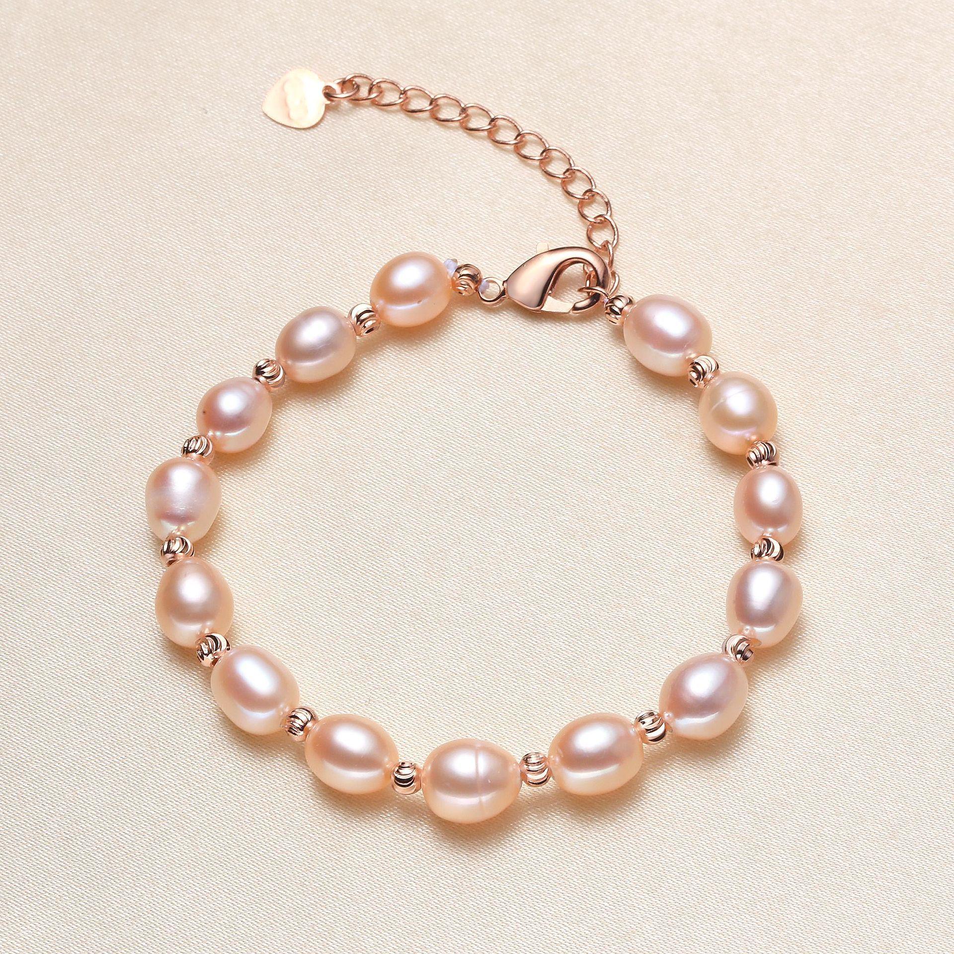Aiyanishi белый розовый фиолетовый мульти жемчужный браслет мода трубки браслет жемчуга регулируемый браслет для женщин вечеринка творческий подарок Продвижение