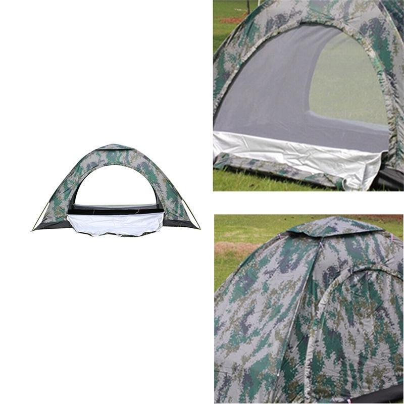 Impermeabile tenda da campeggio tenda strato di poliestere tessuto unico per Esterni escursionismo