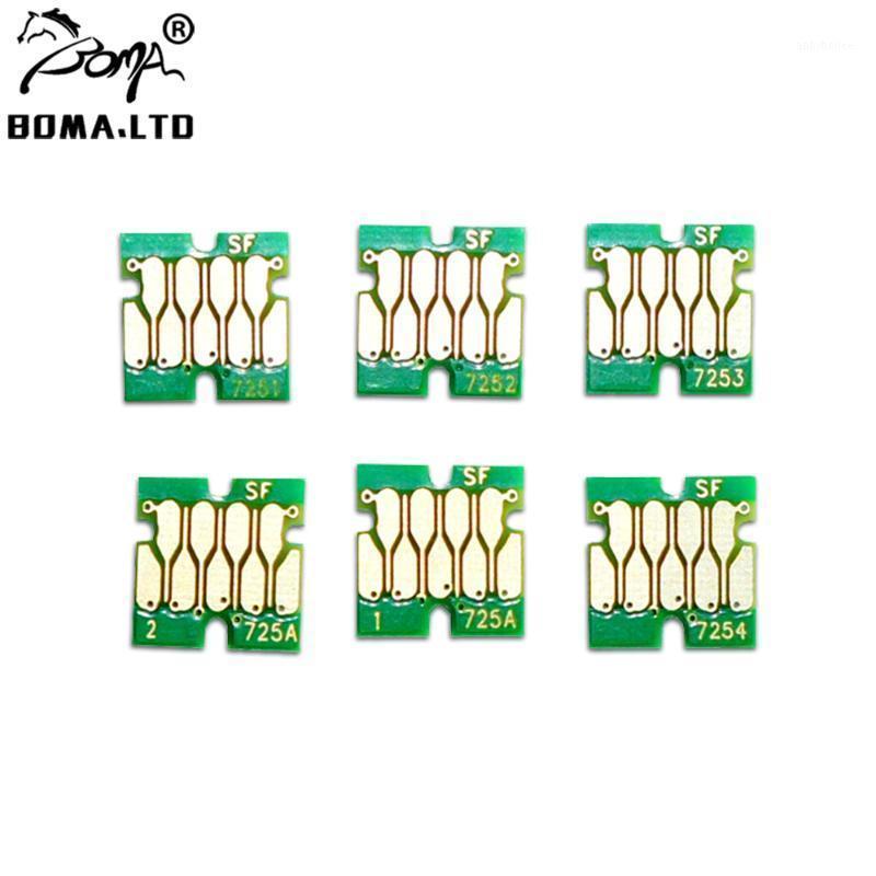 Boma.ltd F2000 F2100 Cartucce d'inchiostro Chips per la stampante SC-F2000 SC-F2100 di colore SC-F2000 SC-F2100 T7251 - T7254 Chip serbatoio1