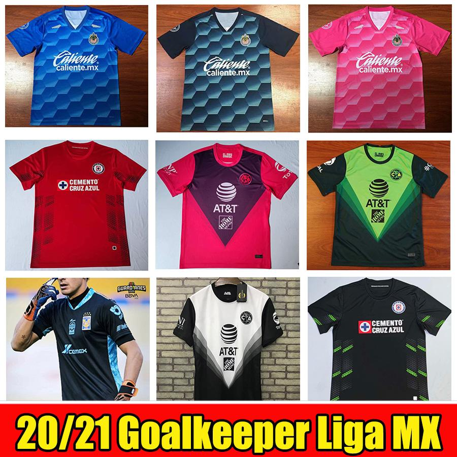 2020 2021 شيفاس دي غوادالاخارا حارس مرمى Soccer Jerseys 20 21 Club America Naul Tigres Cruz Azul GK Camiseta De Futbol Shirts