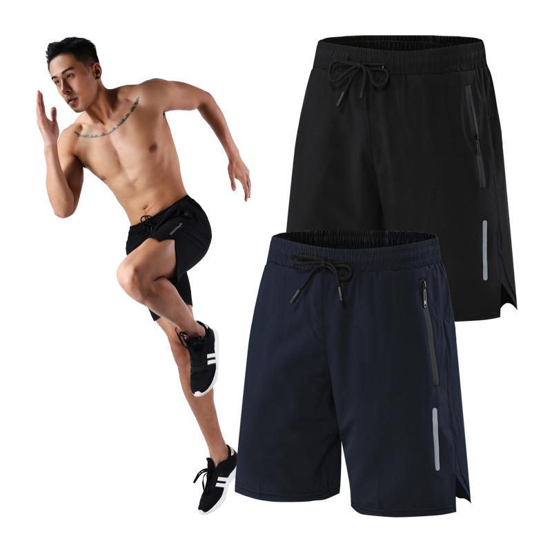 Homens Ginásio Shorts Rápido Running Running Compression Shorts Fitness Casual Jogging Sweatpants Man Training Sports Short
