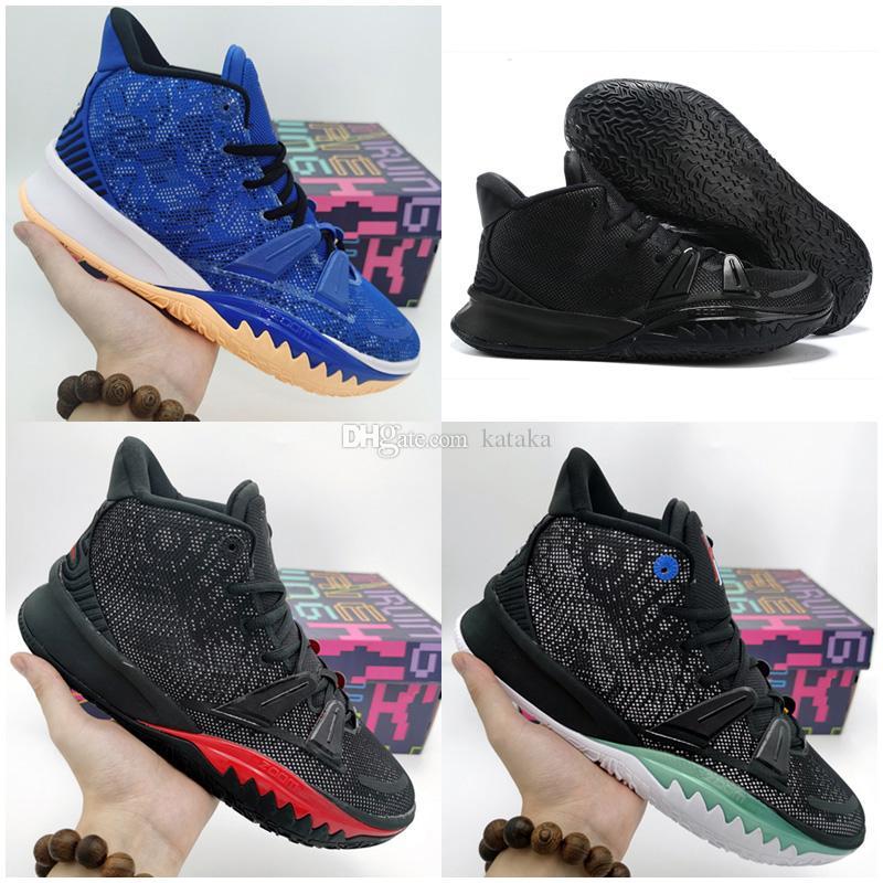2020 Yeni Erkek Kybrid S2 PS Kyrie Hibrid Ne Siyah Erkekler Basketbol Ayakkabıları Kybrid S2 EP Eğitmen Sneakers