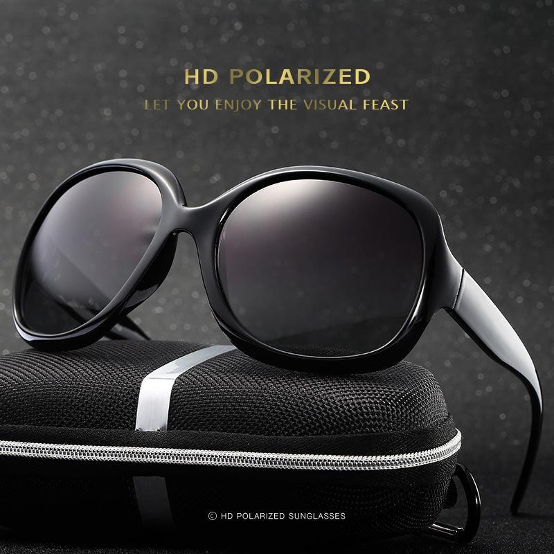 Women Round Sun Polarized Designer Feminino Summer Sunwear Sunglasses Fashion Glasses Brand Pretty UV400 2020 Dogkl