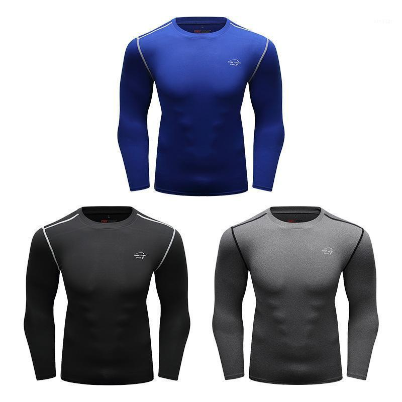 Hommes Compression Running T-shirt T-shirt Fitness à manches longues Sport Tshirt Tshirt Jogging Shirts Journée de gym Tee-shirt rapide Tee Tee Tee Tops1