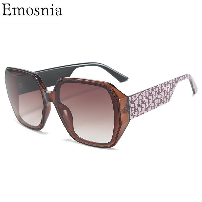 2021 Retro Superized Square Sunglasses Quadro Clássico para Homens Mulheres Alta Qualidade Novo Vintage Moda Óculos UV400 Shade Driving