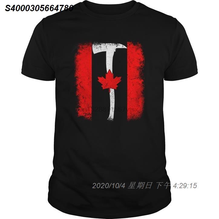 Männer T-Shirt Canadian Feuerwehrmänner kühle Bedruckte T-Shirt T-Shirt 332510 top