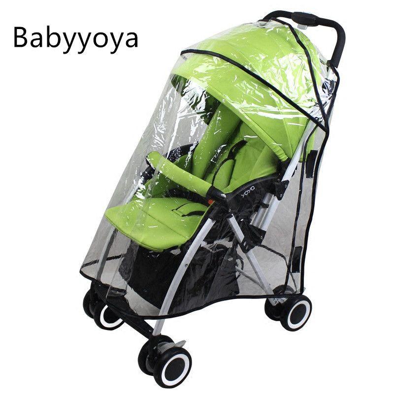 Yoya Yoyo Yuyu Çocuk arabaları Yağmur Kapak Araç-kapaklar Bebek arabası Taşıma Arabası Aksesuarları 201.021 Evrensel Raincover Toz Kapağı Yağmurluk