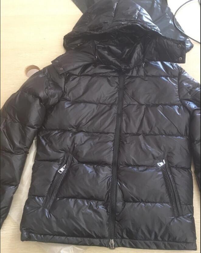 Herren Design Mantel mit Kapuze Parka Männer Winterjacke Windjacke Parkas Daunenmantel Dicke Jacken Herren Fashion Jackets Asiatische Größe Herrenbekleidung Herren