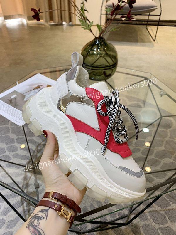 Prada Yeni Womans Paris Rahat Ayakkabılar Eğitmenler Baba Ayakkabı Sneaker Siyah Boy Erkek Bayan Beyaz En İyi Kalite Koşucu Chaussures RX190709