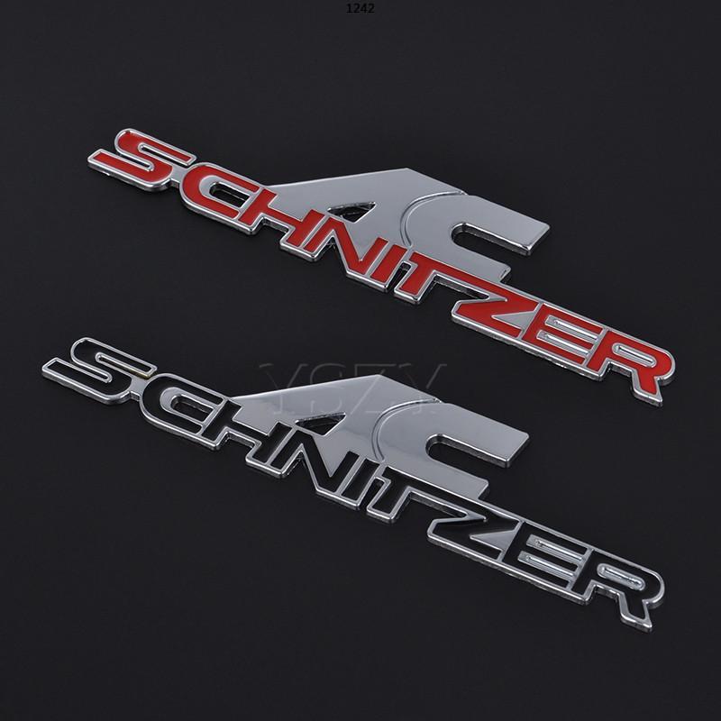 Fashion Car adesivo Emblema Emblema Auto Decalque De Metal Para BMW AC Schnitzer M M3 M5 E34 E36 E60 E90 E46 E39 x3 x5 F20 F30