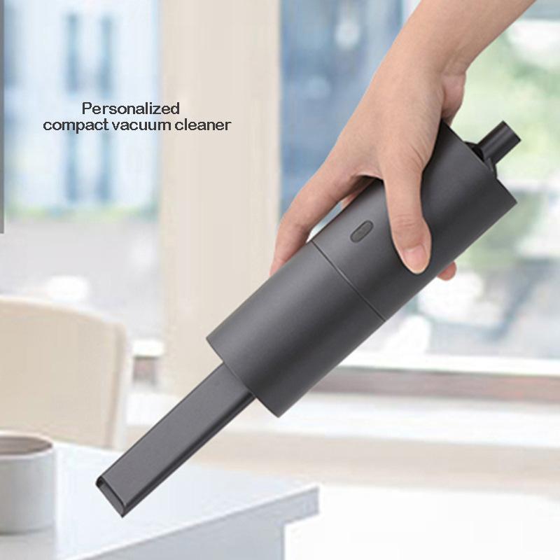 Mini Car sem fio USB Vacuum Cleaner carregamento portátil aspirador portátil da vara de dupla utilização Home Office Plano Boca seca Cleaner