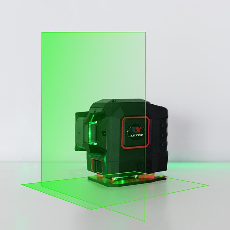 Nuevo láser láser de línea cruzada de LETER 2D, nivel de láser de línea cruzada, nivel de vertical horizontal de nivel láser