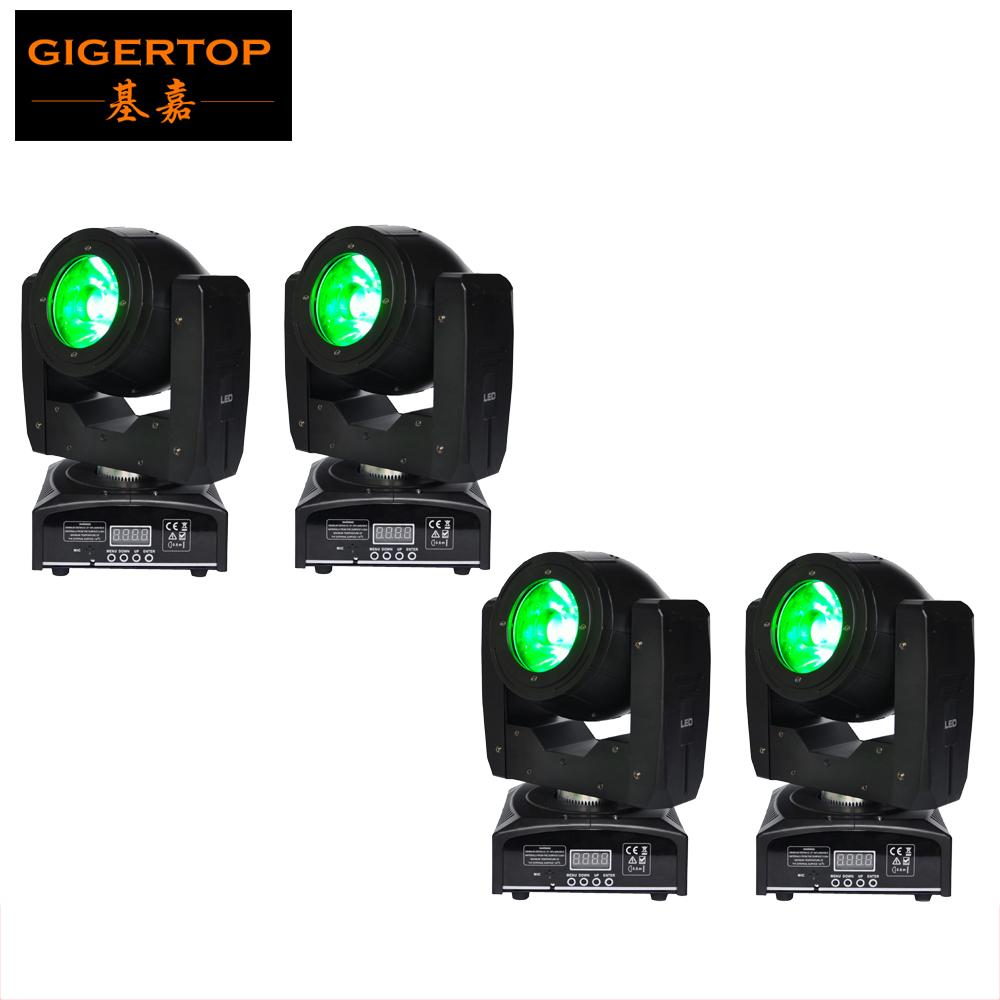 Freeshipping 4 Satz 60W LED-Strahl Licht RGBW O-S-R-A-M 4in1 LED-Lampe DMX 8/16 Kanäle 4 Grad-Objektiv-Winkel Small Size 100V-220V