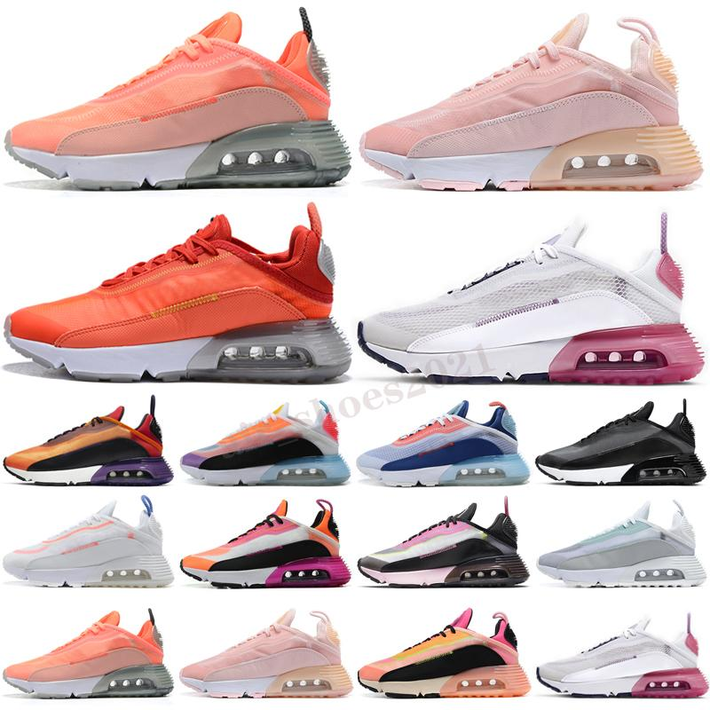 Max 2090 Hohe Qualität 2090 Laufschuhe Herren Womens Triple Black Neymar Neon Highlighter Pink Foam Duck Camo Sneakers 2090S Tägliche Wandertrainer