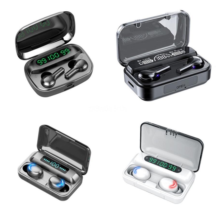 Inpods colorés 12 Macaron couleur sans fil Bluetooth TWS Ecouteur Pop-Up tactile Oreillettes écouteurs pour tous Smart Phone Sport Casque # 455