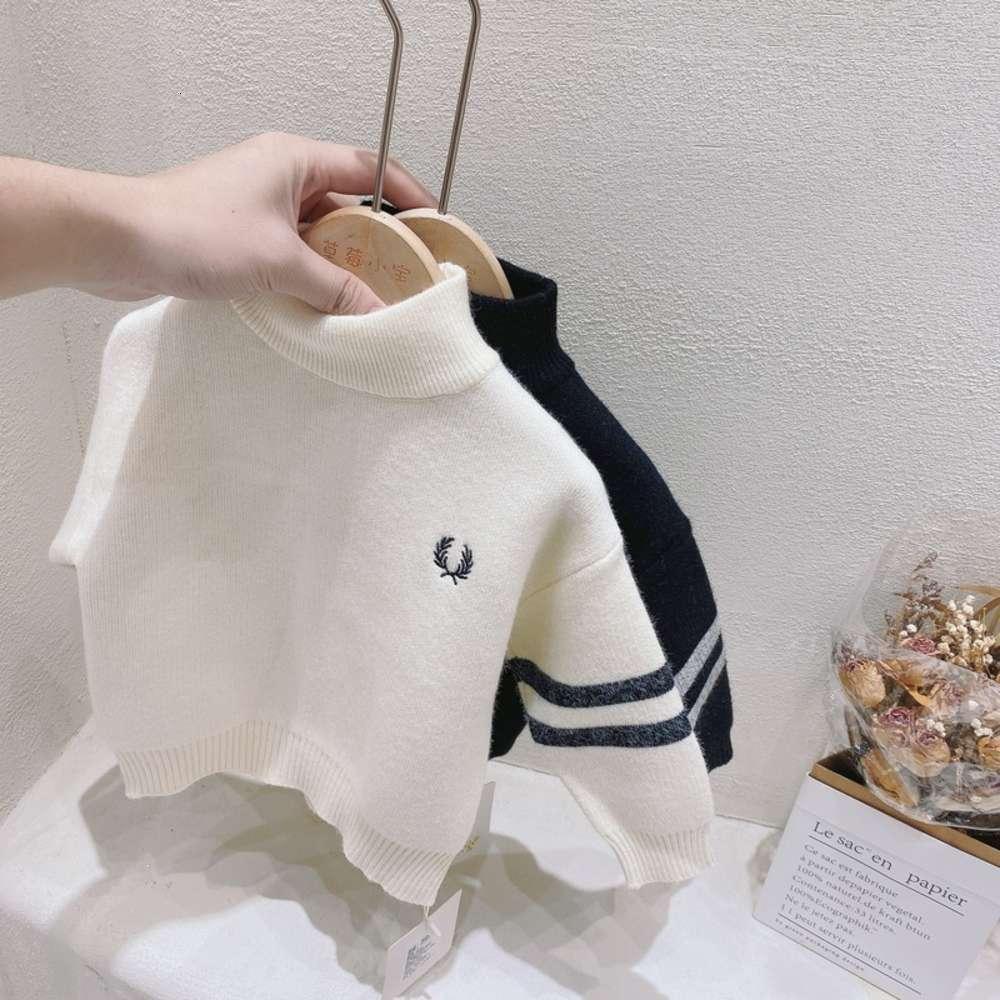Vêtements Enfants Enfants Strawberry Winter Xiaobao Vêtements pour hommes et collier High Highed Collier Brodé