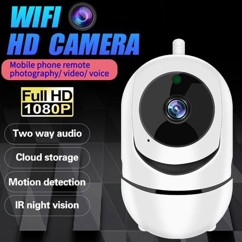 Универсальный 1080P Full HD WIFI беспроводной видео Baby Monitor купольная камера Двусторонний Интерком ночного видения Главная CMOS безопасности видеокамеры