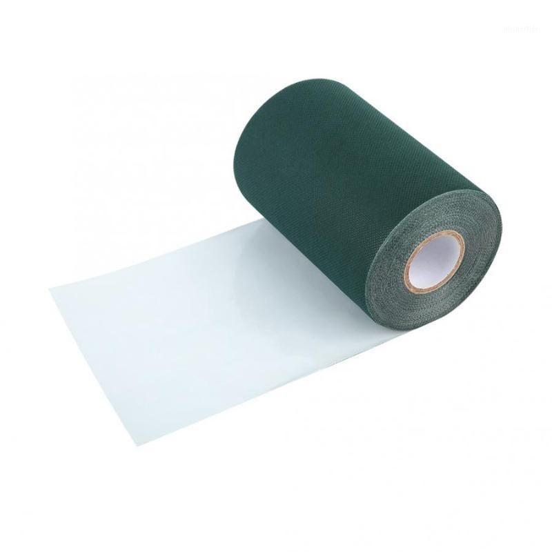 Accesorios para la decoración del hogar Césped artificial 2 colores 150mm * 10M Cintura de cinturón de cinturón de cinturón de césped artificial Carpeta de hierba1
