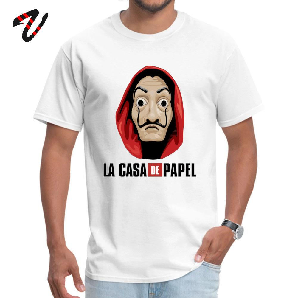 Sport Personalisierte Geld Heist O Ansatz T-Shirts Sommer-Herbst-Tops T-Shirt Youtube-Hülse für Männer Slim Fit Alle Slayer Normaler T-Shirt