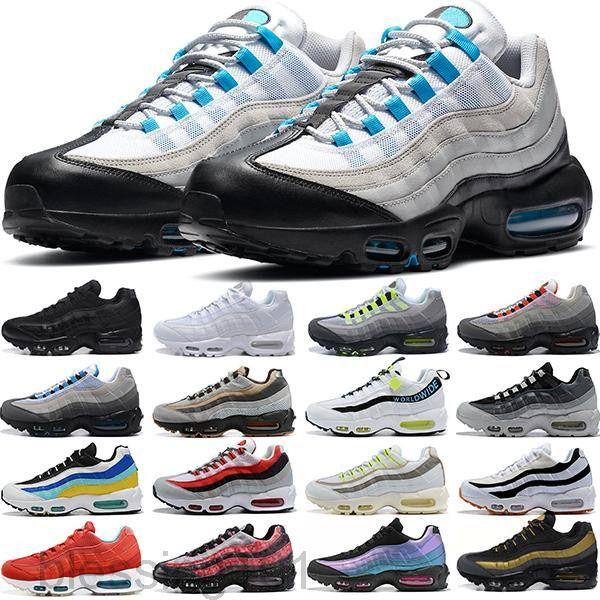 Envío de gota Venta al por mayor Zapatos casuales Hombres Cojín OG Sneakers Botas Auténticas NUEVO NUEVO DESCUENTO DESCUENTO ZAPATOS DEPORTIVOS TAMAÑO 40-46 BT11
