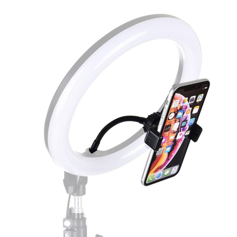 Phone Holder Camera Tripod Adapter Kit for 11 Pro XS Max 8 7 6 6s Attaching on Ring Light Photography