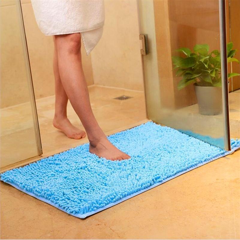 Piso antideslizante Agua Absorción de la puerta de la puerta de la alfombra de la alfombra de la alfombra de la alfombra Pasillo de la alfombra porche porche Dormat 40x58cm 201214
