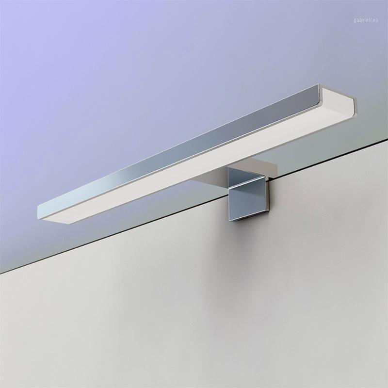 Vente chaude LED murmaut mural miroir de salle de bain chaud blanc / blanc Washroon Lampe murale luminaires aluminium Boby ABS lampe-logement1