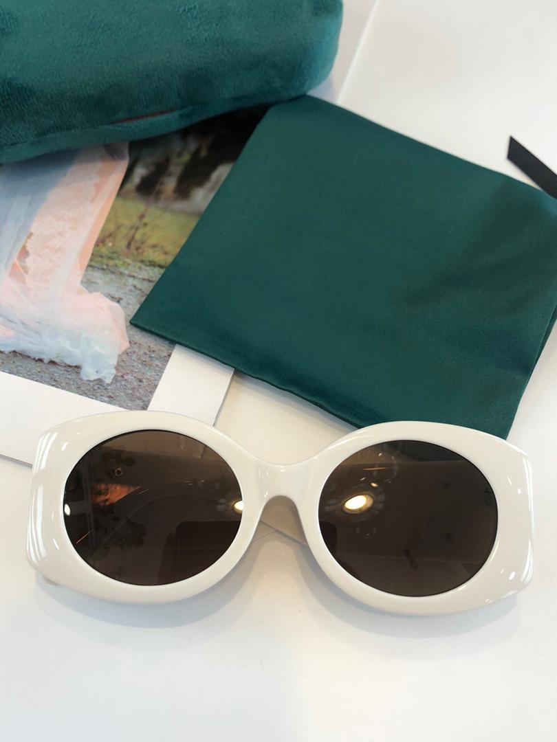 2021 جديد أعلى جودة 0810 رجل نظارات الرجال نظارات الشمس مزاجه النساء النظارات الشمسية نمط الأزياء يحمي العينين مع مربع