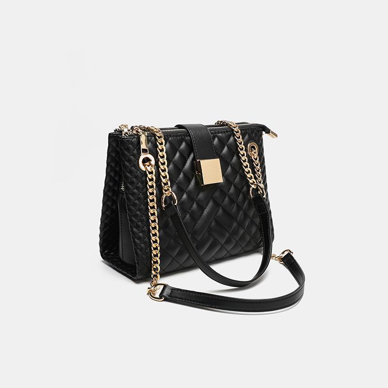 Сумка цепь стеганые сумки сумки кошельки женщин для роскоши новая леди дизайнер посланник Dropshipping кошелек 2021 Crossbody черный тренд Tote UJTFQ