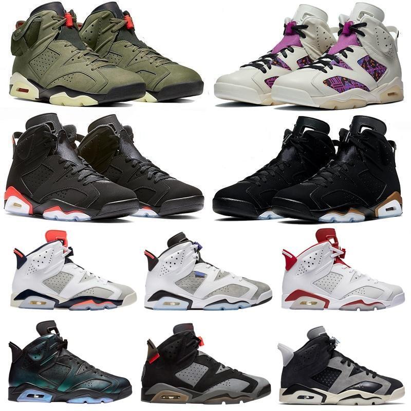 2020 دخان رمادي 6 6 ثانية الرجال أحذية كرة السلة jumpman الثلاثي الأسود dmp هير الأشعة تحت الحمراء تينكر النساء الأحذية المدربين الرياضة أحذية رياضية الحجم 7-13