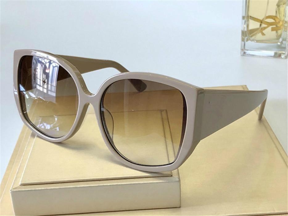 Lunettes de soleil à la mode large Montrer le visage Petites lunettes de haute qualité à la main Sunglasses de haute qualité à la main 4290