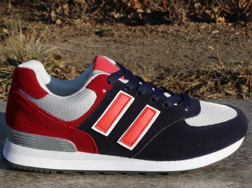 Drop Shipping Deri Erkekler Ve Kadınlar Dantel-up Rahat Ayakkabılar Çiftler Sneakers Ayakkabı Öğrenci Ayakkabı Daha Fazla Renk Boyutu 36-44