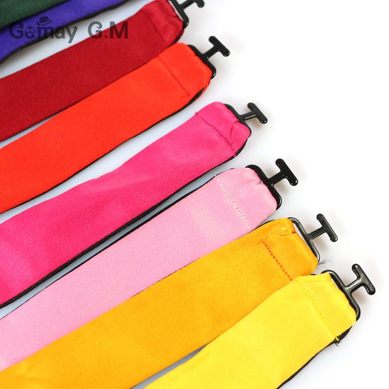 Мода Коммерческие мужские Bowties для мужчин Plain Продано Цвет Шелковый бабочках Высокое качество Multicolor Предварительно привязал для свадебного банкета