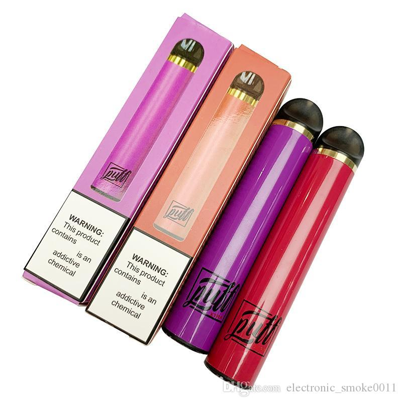puff puff XTRA Disposable Vape Pen 1500Puffs Pre-filled 5.0ml Cartridges Starter Kit Device System Vaporizer Pods e Cigarette Vape PUFF XTRA